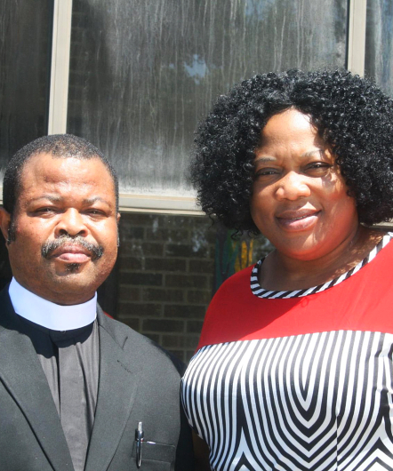 Pastor and a woman